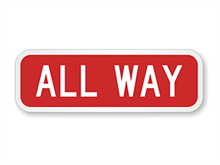 Picture of All-Way Sign