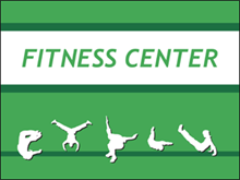 Picture of Fitness Center Yard Sign (FCYS#002)