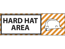Picture of  Hard Hat Area Label (HHAL#003)