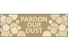 Picture of  Pardon Our Dust Label (PODL#003)
