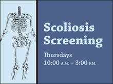 Picture of Scoliosis Screening Yard Sign (SS4YS#002)