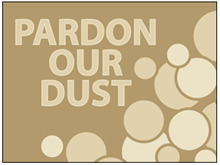 Picture of Pardon Our Dust Yard Sign (PODYS#002)