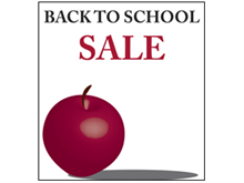 Picture of Back to School Sale Poster (BTSP#011)