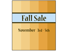 Picture of  Fall Sale Poster (FS2P#011)