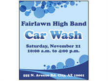 Picture of Car Wash Poster (CWP#011)